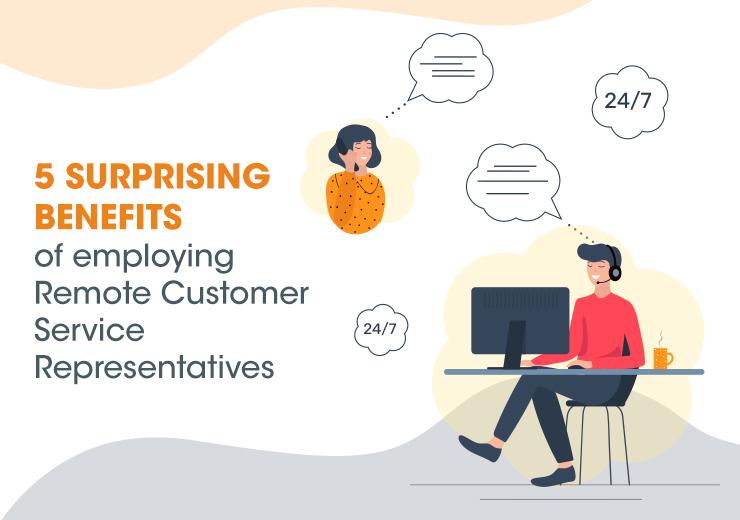benefits of remote customer service
